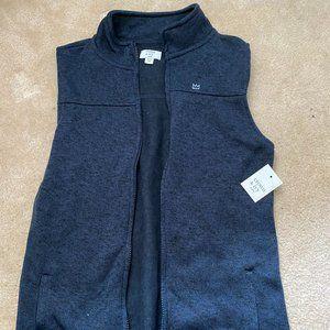 NWT Crown & Ivy Blue Vest